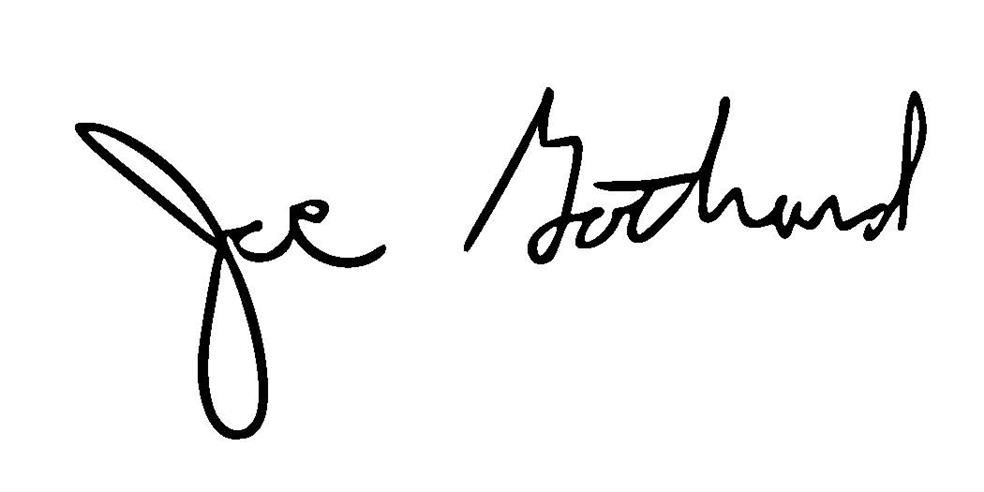 Joe Gothard signature