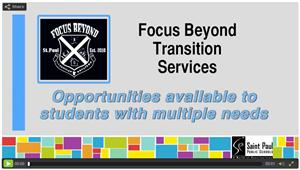 Please follow this link for a video overview of Focus Beyond