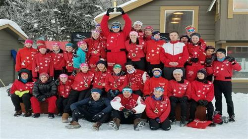 Highland Park Nordic Ski team