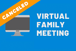 CANCELED: Family Meeting with Dr. Gothard