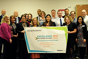 Como Park Senior High School Honored with National Excellence in Action Award
