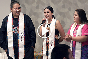 Students Honored at Eagle Feather Ceremony