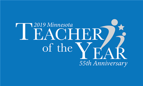 Minnesota Teacher of the Year logo