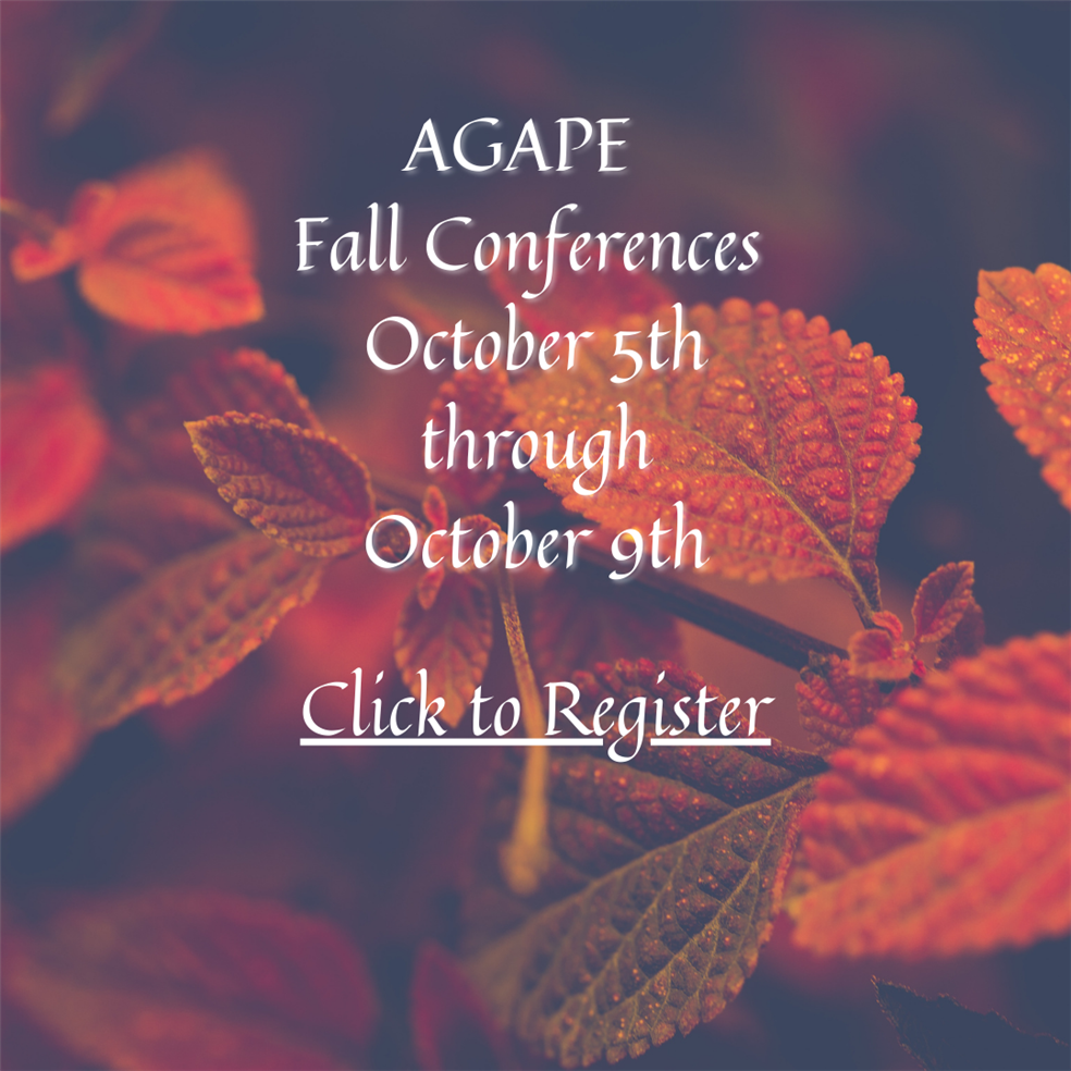 AGAPE Parent Teacher Conferences Week!
