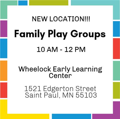 Family Play Groups
