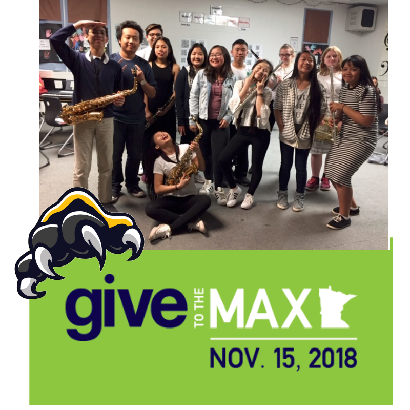 Give to the Max! Help our music department.