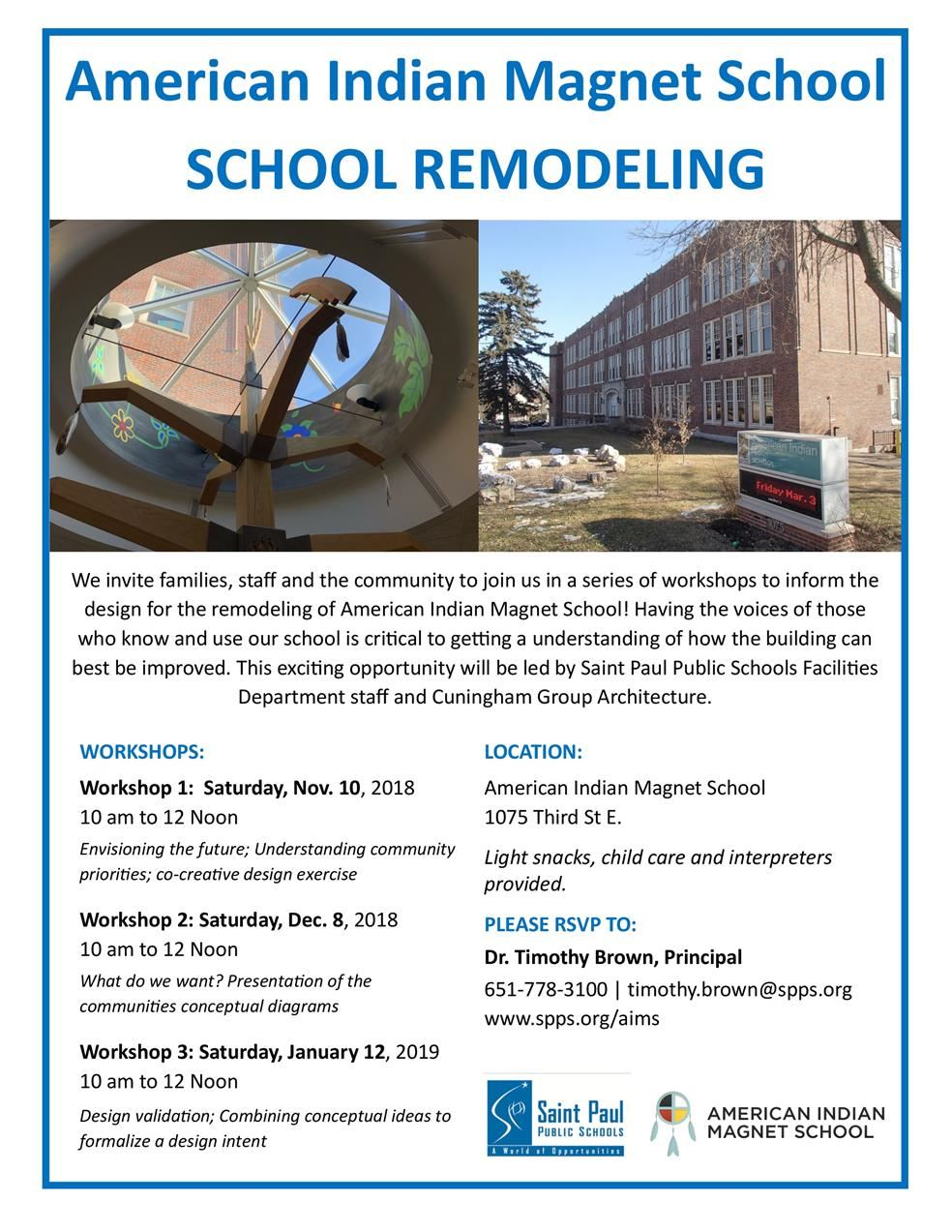 AIMS Remodel Workshops - You're Invited!