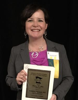 Kristi Herman-Hill recognized with the Harold B. Allen Award