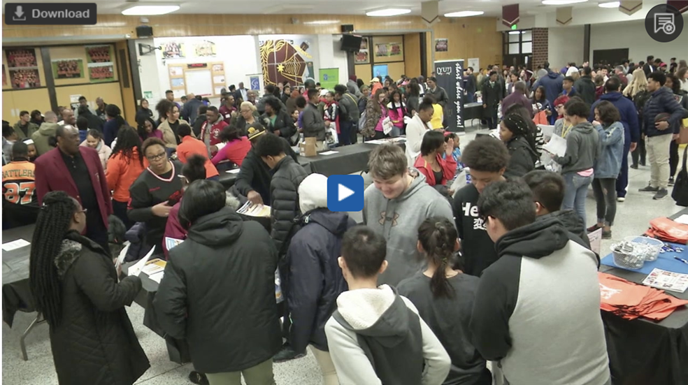 Record Breaking Turnout for Thinking College Early Fair