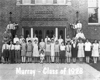 Murray Junior High in 1928