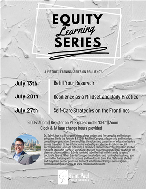 July 2020 Equity Learning Series