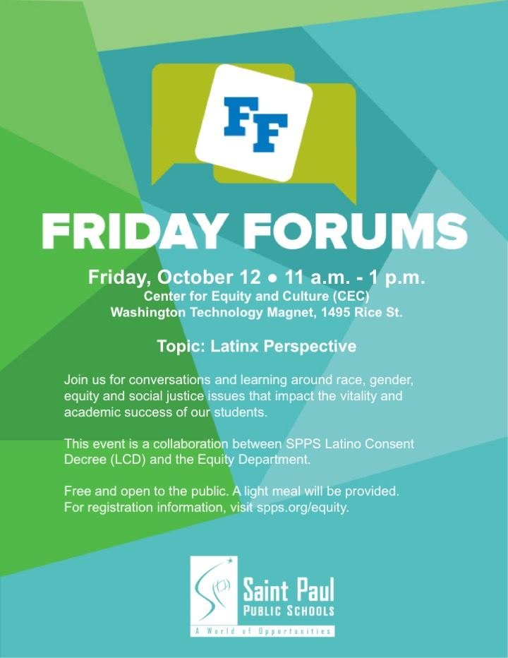 Friday Forum - Latinx Perspective