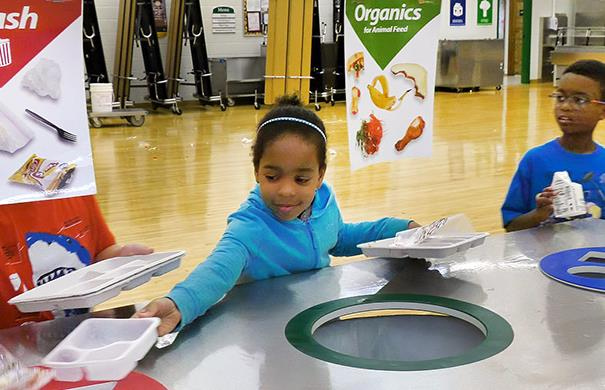 Organics recycling at school