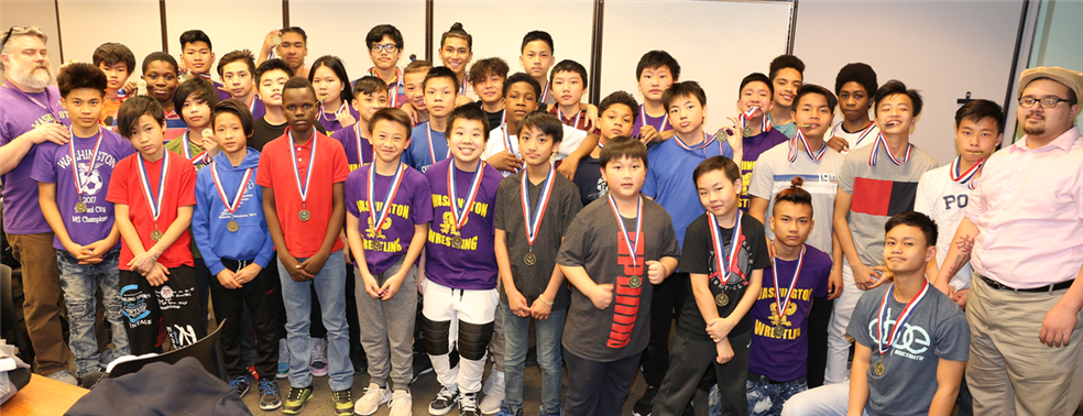 Washington Technology Middle School Wrestling Team
