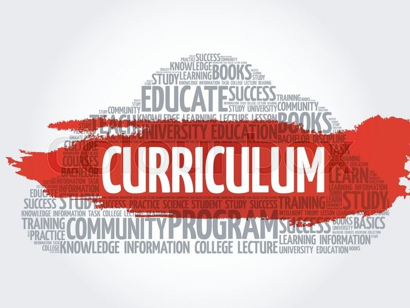 words about curriculum