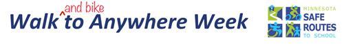 Walk and Bike to Anywhere Week logo