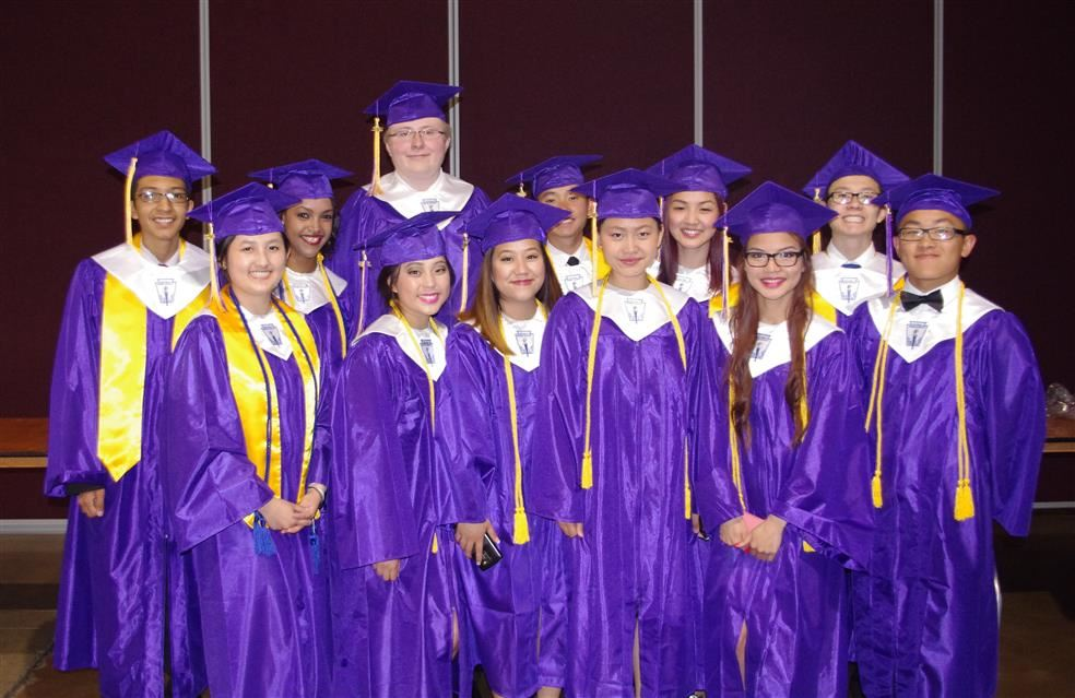 Photo of Washington Technology Magnet graduates