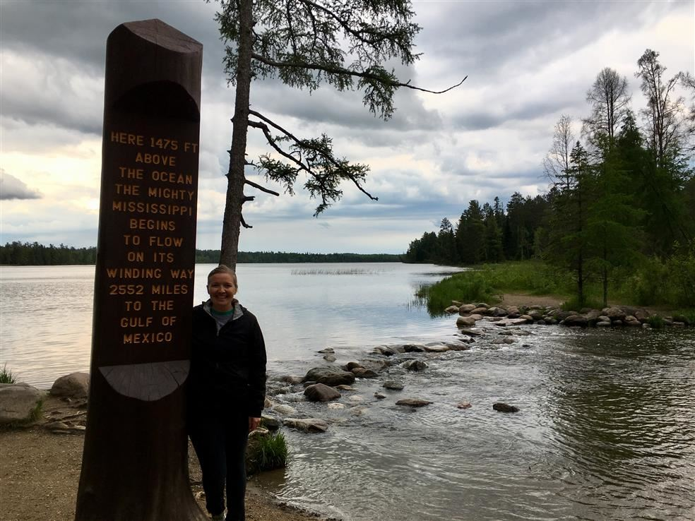 Headwaters of the Mississippi River - Lake Itasca