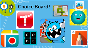 Choice Board Page