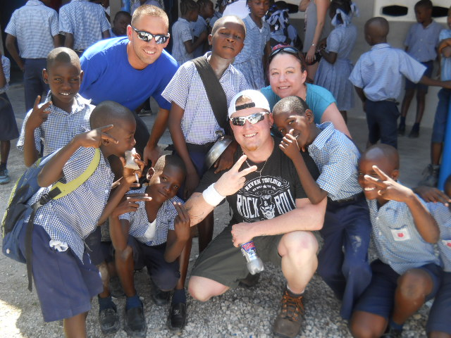 Teaching in Haiti
