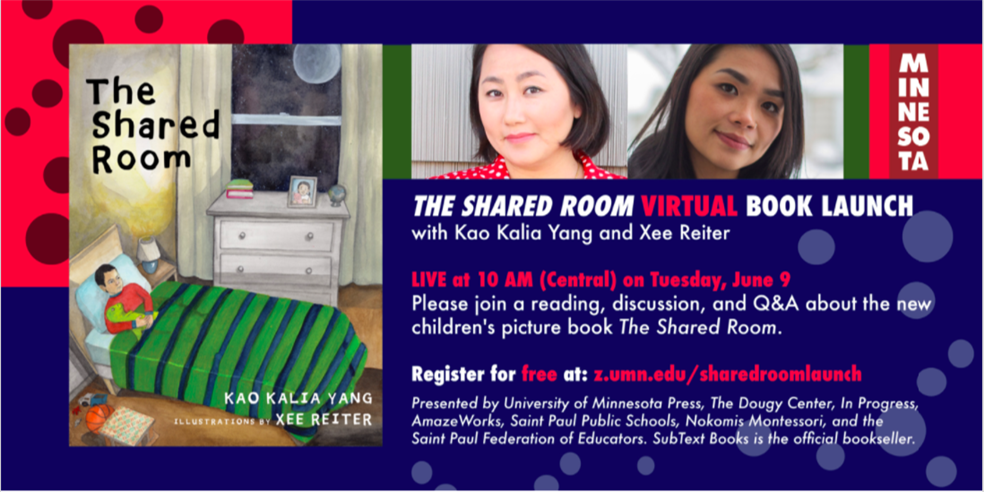 The Shared Room Virtual Book Launch