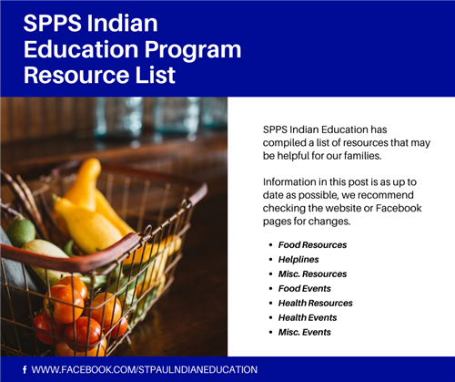 SPPS Indian Education Program Resource List
