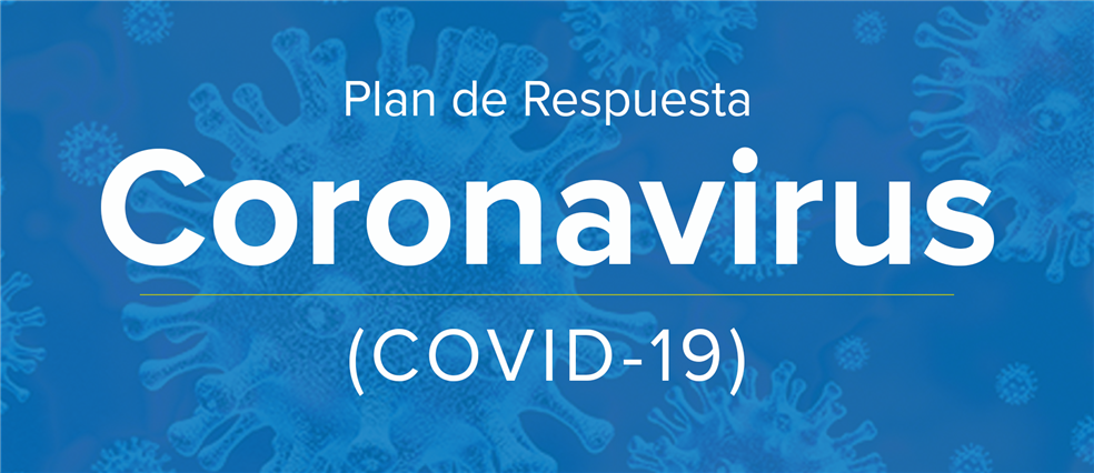 COVID-19 Response plan image in Spanish