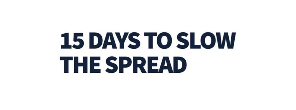 15 Days to Slow the Spread