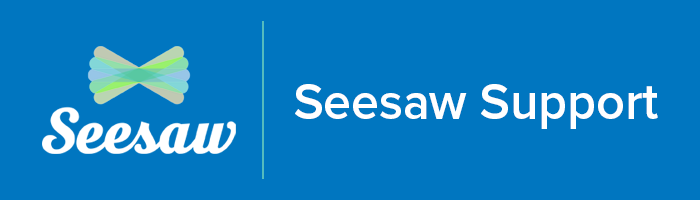 Seesaw support logo