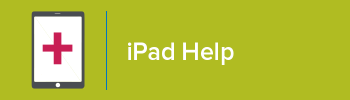 iPad help graphic