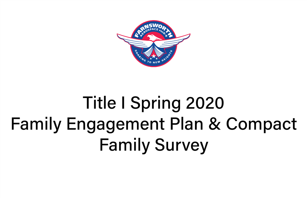 Title I Spring 2020 Family Survey