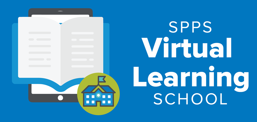 Virtual Learning School graphic