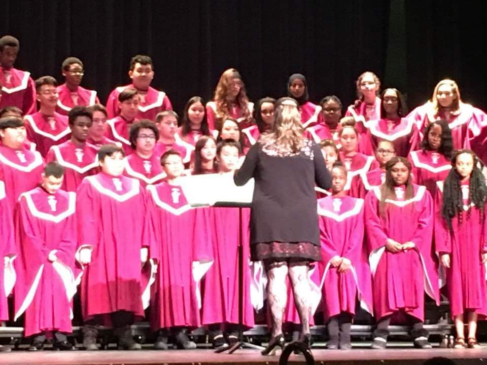 Johnson High School Choir