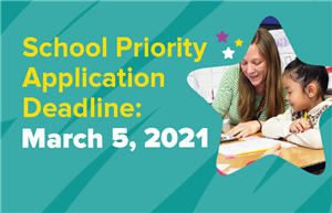 School Priority Application Deadline