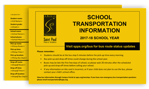 SCHOOL TRANSPORTATION INFORMATION