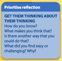 Prioritize Reflection IB