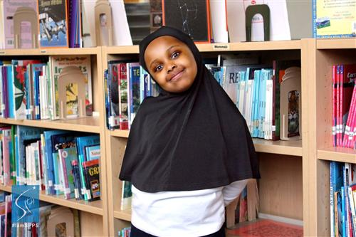 Kafia, Student at Galtier Community School