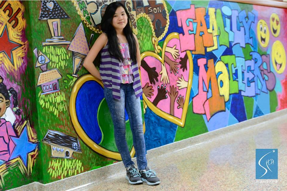 Vanessa, Seventh Grade Student at Linwood Monroe Arts Plus