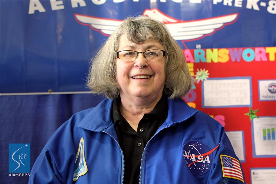 Cindy Schreiber, Aerospace/STEM Coordinator, Farnsworth Aerospace