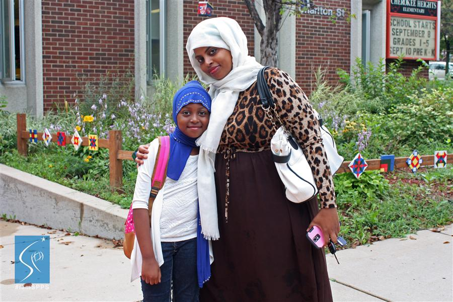 Jawahir, parent of Cherokee Heights student, Yasmine