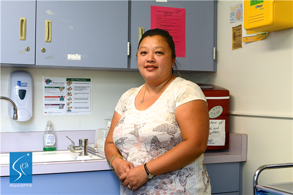 Kay Lee, Nurse,<br />Frost Lake Elementary