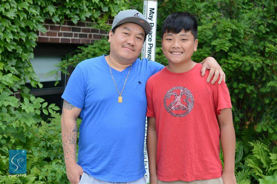 Lee Yang, and Kelper, Murray Middle School