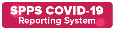 COVID reporting system button