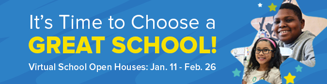School choice banner