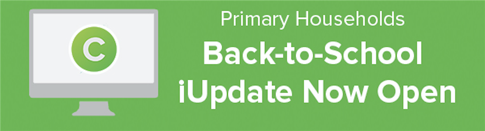 Back to School iUpdate now open