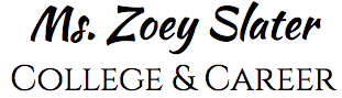 Ms. Zoey Slater College & Career