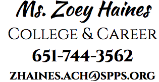 Ms. Zoey Haines College and Career