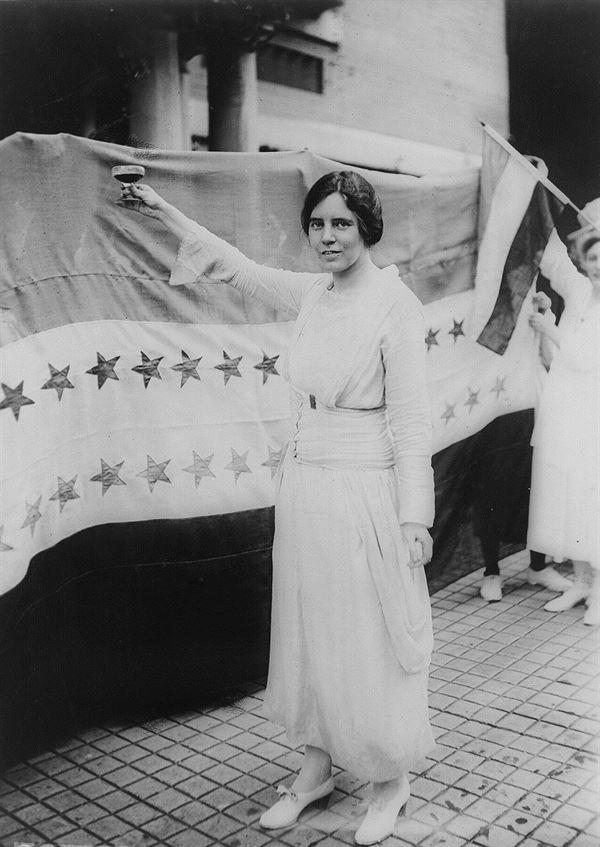 Alice Paul was instrumental in the passing of the 19th amendment.