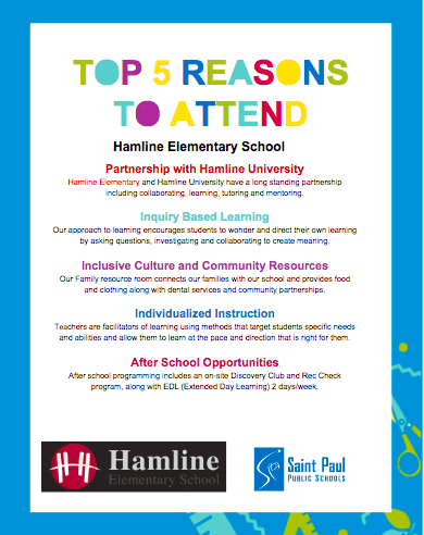 Top 5 Reasons to Attend Hamline