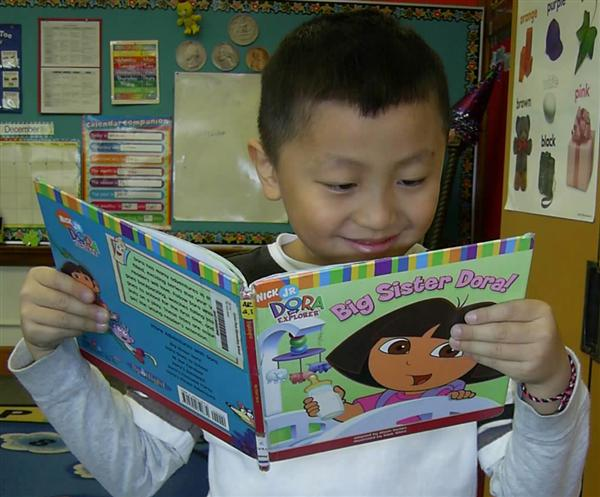Reading during Reader's Workshop